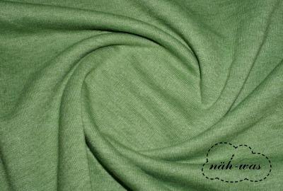 Sweat grün meliert angeraut