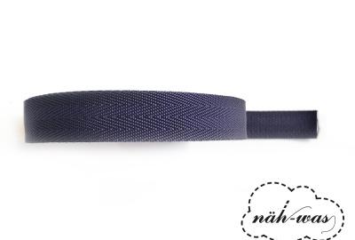 3m Gurtband dunkelblau Taschenband