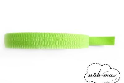 3m Gurtband hellgrün Taschenband