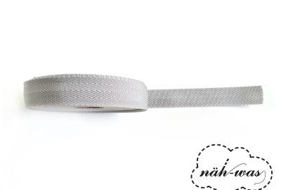 3m Gurtband hellgrau Taschenband