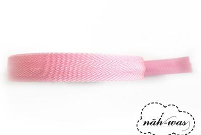 3m Gurtband rosa Taschenband
