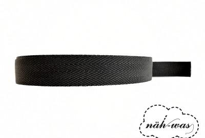 3m Gurtband schwarz Taschenband