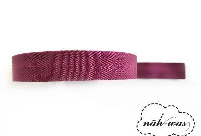 3m Gurtband dunkelrot Taschenband