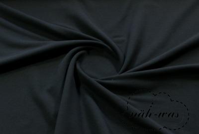 Sweat schwarz kuschelweich angeraut Softsweat