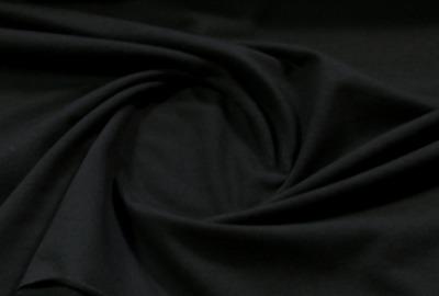 Jersey Stoff schwarz Baumwolljersey