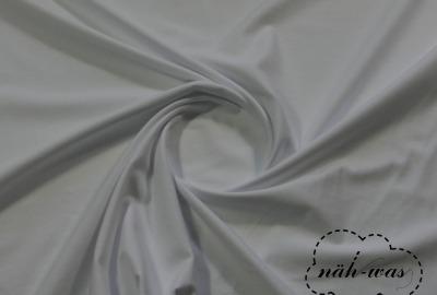 Jersey Stoff weiß Baumwolljersey