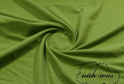 Konfetti Sweat grün gelb Cosy Colours