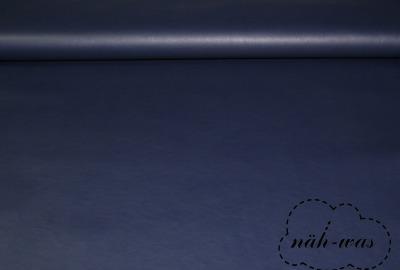 Kunstleder dunkelblau Lederimitat