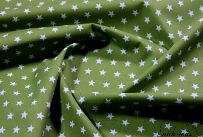 Sterne Baumwollstoff Sternchen grün