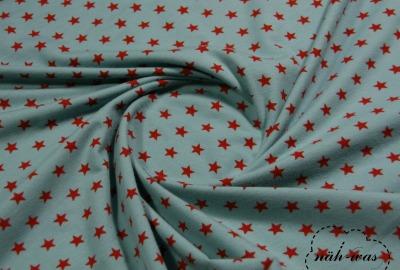 Jersey Sterne hellblau