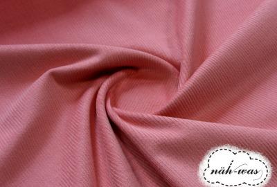 elastischer Cord Cord rosa weich