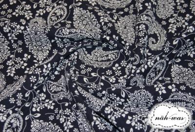 Musselin Paisley Muster Double