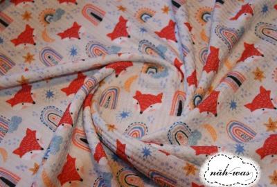 Waffel Jersey Fox Fräulein Julie Füchse