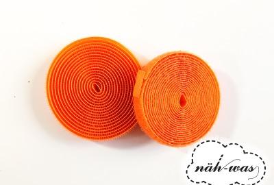 2m Klettband orange Klett