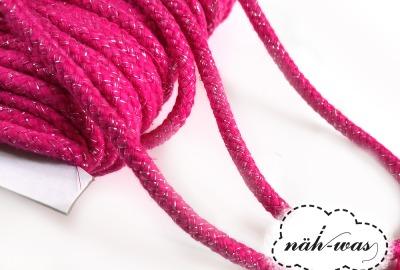 3m Kordel pink glitzer