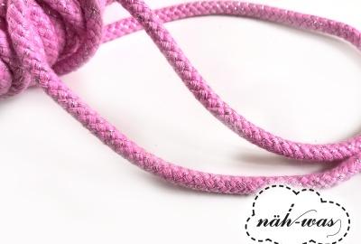 3m Kordel rosa glitzer
