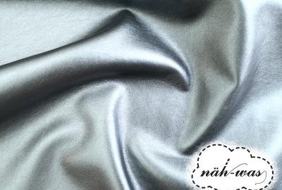 Kunstleder metallic Lederimitat