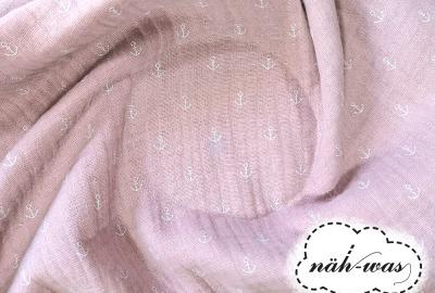 Musselin rosa Anker