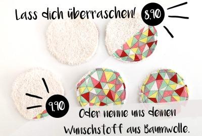 Surprise Kosmetikpad Set Abschmink-Pads Wattepads aus
