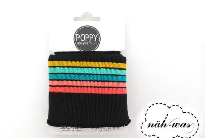 Poppy Cuff schwarz bunt