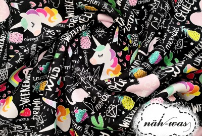 Sweat Einhorn, Flamingo, Ananas Vintage, retro
