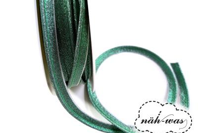 3m Paspel dunkelgrün glitzer