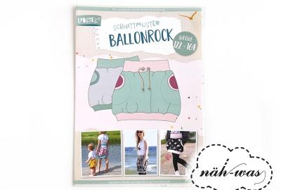 Ballonrock Schnittmuster Lybstes
