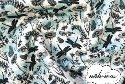 Sweat Watercolour Libelle mint