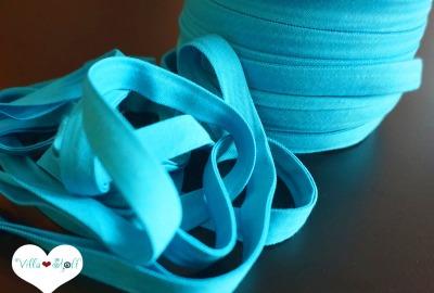 3m Jerseyschrägband türkis 12mm