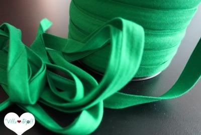 3m Jerseyschrägband dunkelgrün 12mm