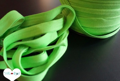 3m Jerseyschrägband hellgrün 12mm