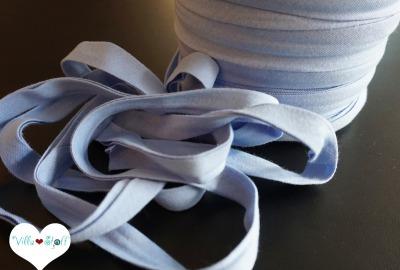 3m Jerseyschrägband hellblau 12mm