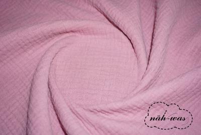 Musselin rosa altrosa