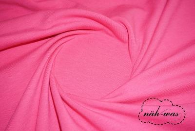 Jersey Stoff pink Baumwolljersey