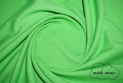 Jersey Stoff grün Baumwolljersey