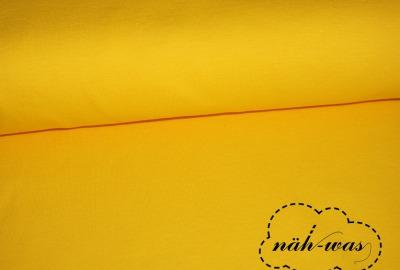 Bündchen Stoff gelb sonnengelb
