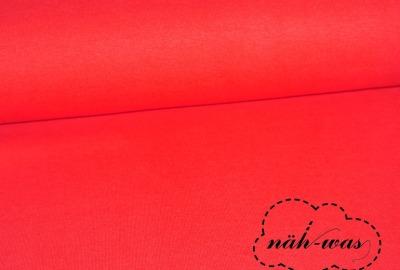 Bündchen Stoff rot rot