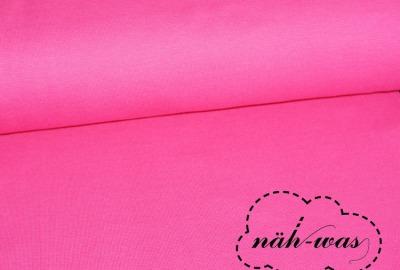 Bündchen Stoff pink pink