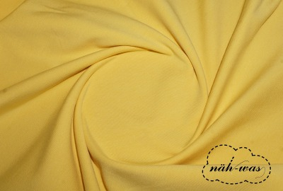 Jersey Stoff gelb pastell