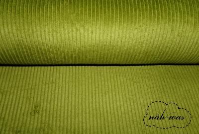 Breitcord Cord Kiwi grün
