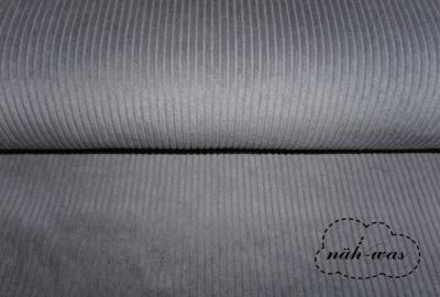 Breitcord Cord grau hellgrau