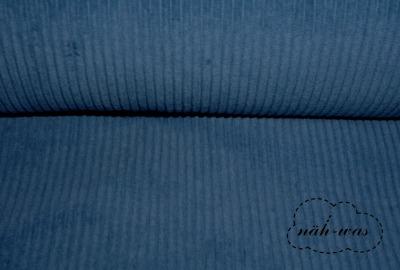 Breitcord Cord jeansblau
