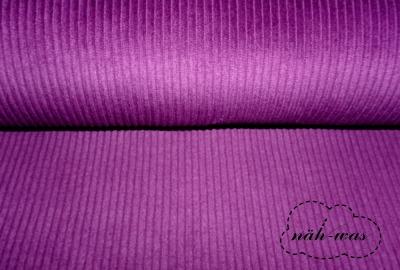 Breitcord Cord lila
