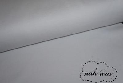 Bündchen Stoff weiß Schlauchware