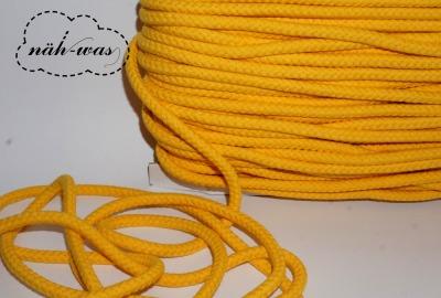 3m Kordel gelb 8mm