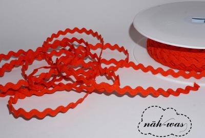 3m Zackenlitze Litze rot