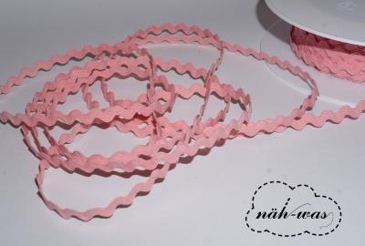 3m Zackenlitze Litze rosa