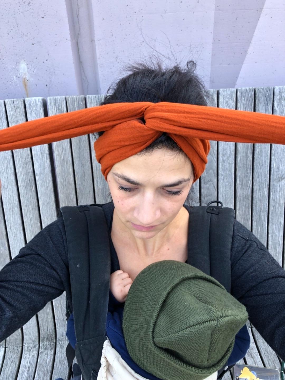 Haarband Musselin 3