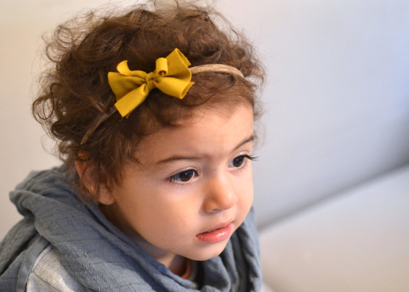 Haarband Baby Schleife