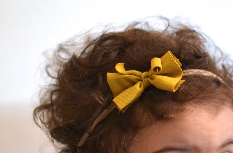 Haarband Baby Schleife 3
